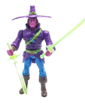Toy Pizza Black Light Chakan The Forever Man Action Figure Glyos System Compatible