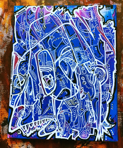 AEQEA  #Prophecy Original Art Acrylic on Canvas Painting
