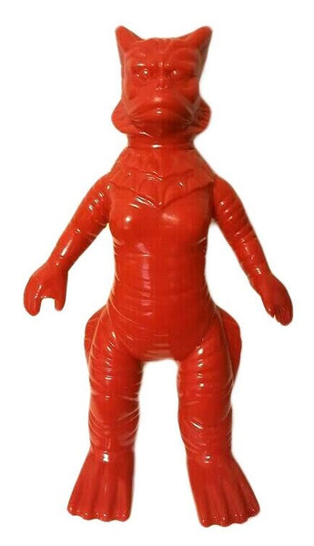 M1 Ragon Ultra Q Kaiju Sofubi Lucky Bag 5 Red Vinyl Aquatic Monster Lagoon Creature Designer Toy