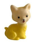 Vintage Kitten Rubber Kitty Cat Squeaker Toy Sun Rubber Co Made in Taiwan