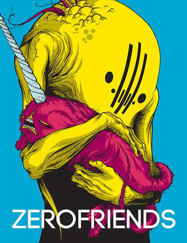 Zerofriends: A Collection of Art, Passion and Madness, Alex Pardee Hardcover Art Book