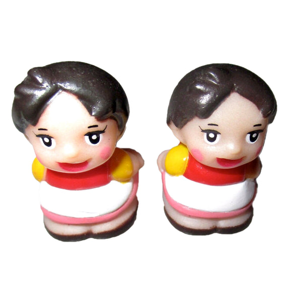 Vintage Zuiyo Heidi Girl of Alps Sofubi Japanese Soft Vinyl Mini Figure Toy