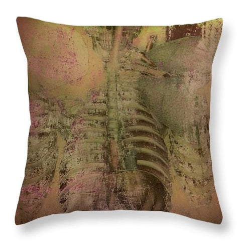Aeqea Bodytalk Throw Pillow