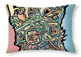 AEQEA Boogerman Throw Pillow Indie Artist Designer Decor