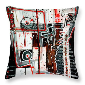 Aeqea Double Check Your Work - Throw Pillow
