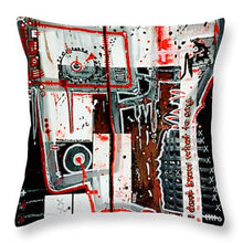 Load image into Gallery viewer, Aeqea Double Check Your Work - Throw Pillow