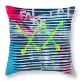 Aeqea Fake Man - Throw Pillow