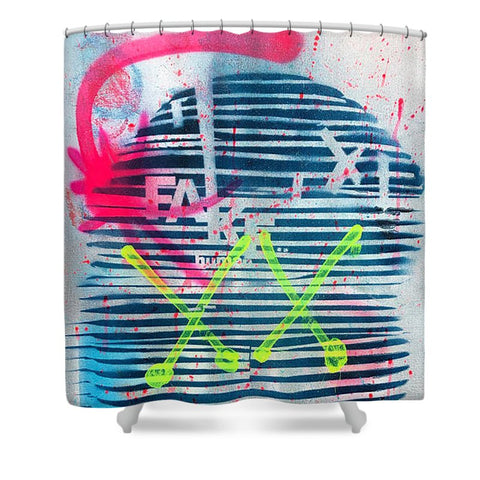 Aeqea Fake Man - Shower Curtain