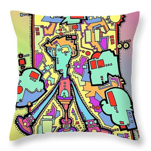 Aeqea Luck Sometimes Sucks - Throw Pillow