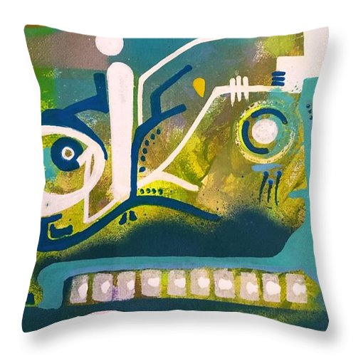 Aeqea Omw-a-OK Throw Pillow