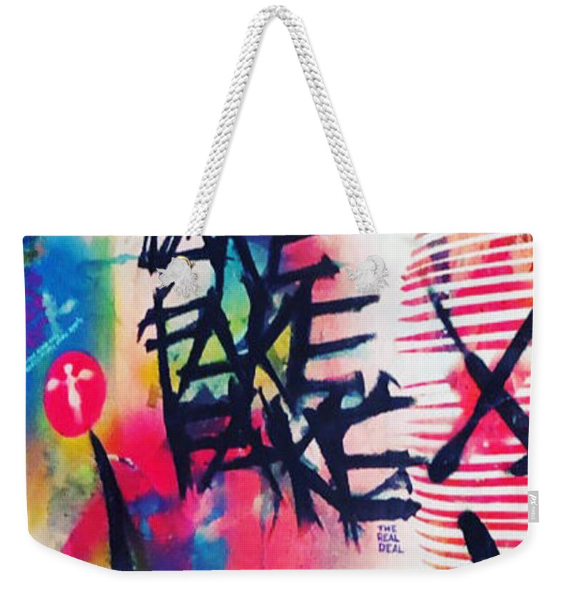 Aeqea Fake The Real Deal Tote Bag