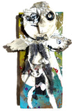 Angel of Ish & Junkness garbage art with resin by AEQEA