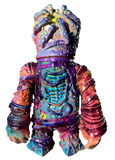 Stitchworm Zombie Parasight Sofubi by Atomic Mushroom Toys Custom Painted by AEQEA One Off