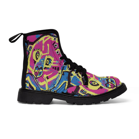 Ego Monster X Peckled Betchwave Men's Canvas Boots