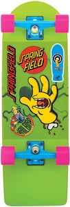 Santa Cruz Bart Simpsons Skateboard Model Cruzer Complete Skate Deck w/ Sticker Sheet (8.9 X 27-Inch)