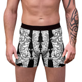 Candles on Mantle Boxer Briefs