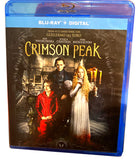 Crimson Peak, Guillermo Del Toro + Mia Wasikowska [Blu-ray] Horror Movie