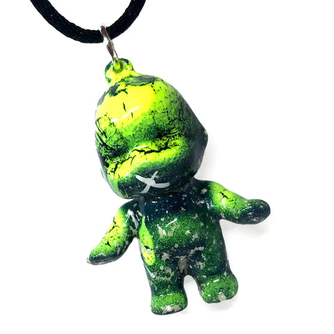 Ancient Acid Custom Kewpie Sofubi Doll Pendant Mini Figure Necklace