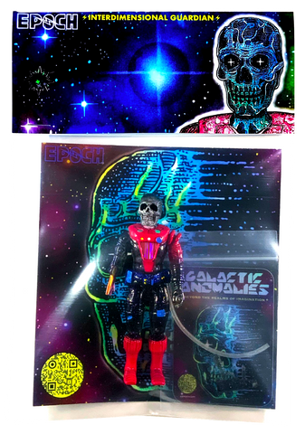 "Epoch Galactic Anomalies Interdimensional Guardian 3.75"" Resin Art Toy Figure (limited edition)"