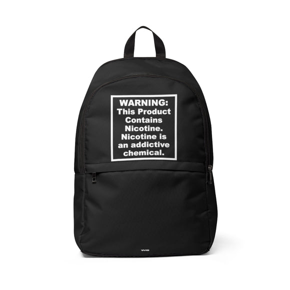FDA Warning Backpack - This Product Contains Nicotine!