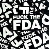 FUCK The FDA Sticker Design
