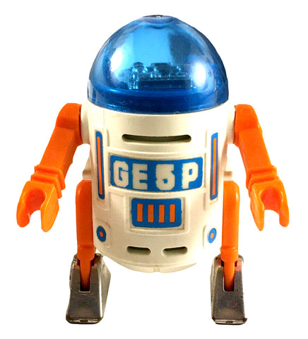 GE5P Playmobile Droid Space Robot 1980 Rare R2D2 Knockoff 100% Complete