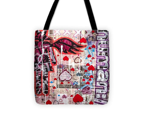 Aeqea Heartdrops - Tote Bag