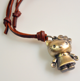Hello Kitty Alloy Pendant Kawaii Cat Necklace