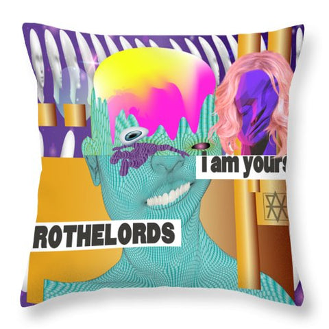 I Am Yours - Throw Pillow