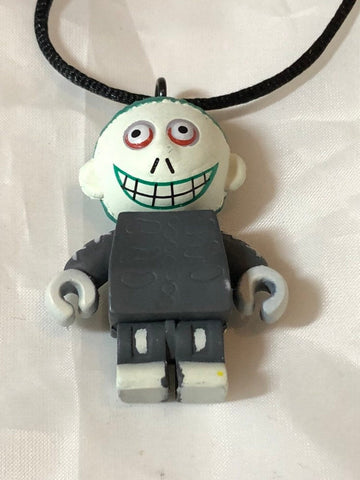Nightmare Before Christmas Barrel Pendant PVC Mini Figure Necklace