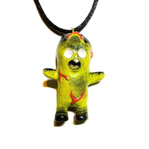 Dehara Menta Kun Resin Art Lulubell Toy Pendant CREEPER Custom Necklace AEQEA Edit