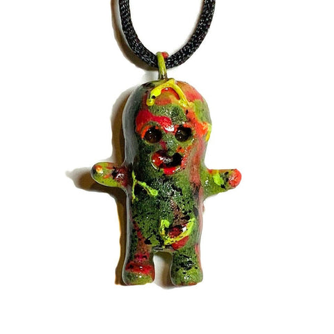 Dehara Menta Kun Resin Art Lulubell Toy Pendant EXPOSED Custom AEQEA Edit Necklace