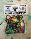 HUMAN.SUPPLY Yo It's Your Boy AEQEA sticker pack 01_Imaginariumn (4 stickers + freebies)