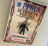 Fake Made Authority Figures Forced Immunization Toy Art FEMA Camp Collectible by AEQEA