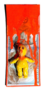 AEQEA Big Bird Benjamin Kaiju Cash FAKE MADE Bootleg Art Toy