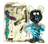 "ICKY RAT ""Blue Hand Fluke"" AEQEA 2-Sided Bootleg Toy Art Custom Resin Figure"