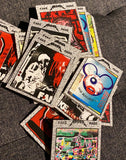 AEQEA Fake Made Artist Trading Cards (9 cards  +1 sticker)