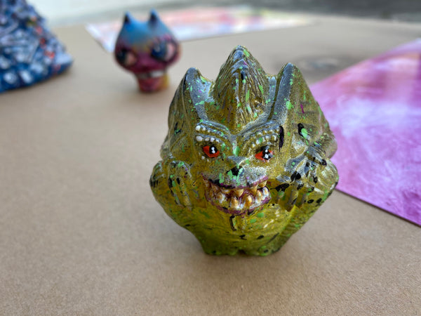 AEQEA Goblin Balls Bootleg Resin Art Toy Knockoff (U Mad Now Balls Buster Bully Boi)
