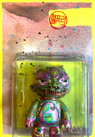Fake Felony Toy Mashup Mini Miscreants Miscreation Toys x Medicom Bridge Ship House Matthew VAG custom kitbash by AEQEA