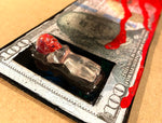 "AEQEA ""Birth of a New Currency"" Fake Made money custom toy mini figure"
