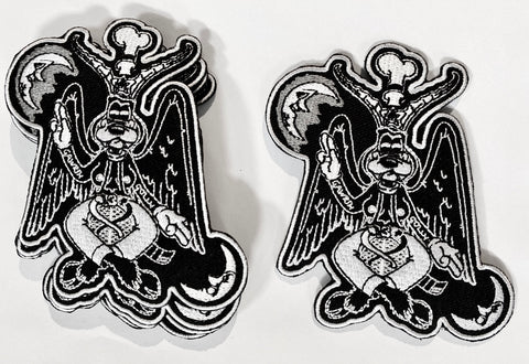 "Gaffomet Baphomet Patch 4"" Iron On Patches"
