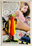 AEQEA Bendy Wiener Buns' Inline Skate Date appropriated parody carded toy art figure