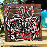 Aeqea FakeOne Wood Panel Painting