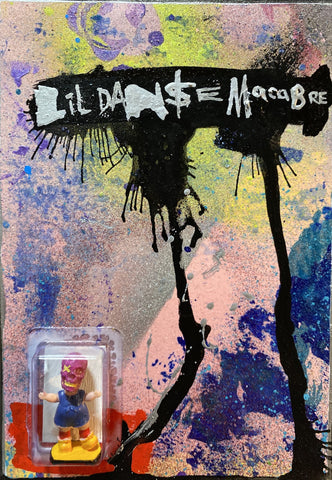 AEQEA Lil Danse Macabre Custom Carded Mini Figure
