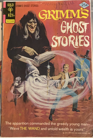 Grimm's Ghost Stories #2 Vintage 1971 25¢ Comic Book Gold-Key 90272-607