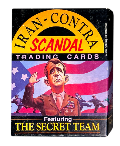 Iran Contra Scandal Trading Card Feat. The Secret Team Set of 36 Cards