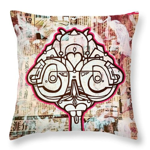 Aeqea Jkboy - Throw Pillow