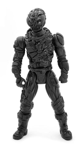 Knights Of The Slice Black Rift Killer Material Boy Resin Toy Pizza Action Figure