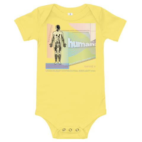 Vaccinewave Baby Body Suit Button Bottom Tee