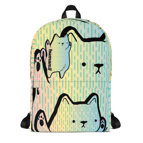 Nat Shmeow Cat Backpack